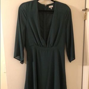 Emerald Green Dress - Size L